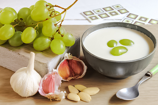 Ajo Blanco White Garlic Gazpacho -  Andalucia